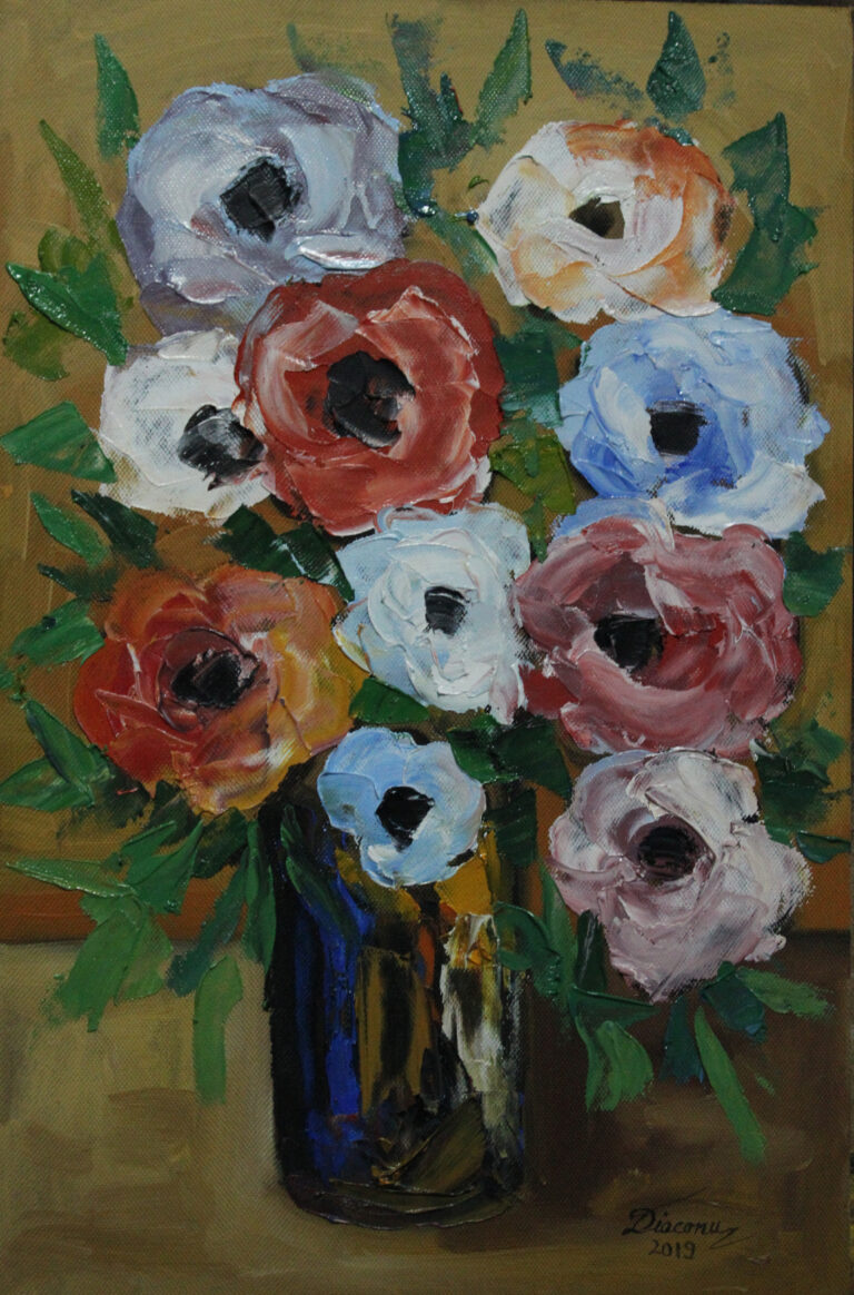 Vas cu flori
