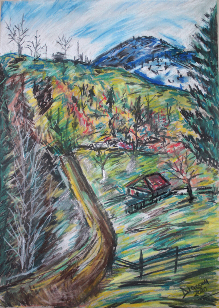 Peisaj din Brateș Ardeluța